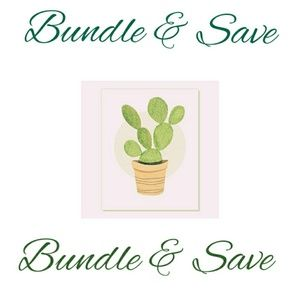 Bundle & save on items & shipping!!